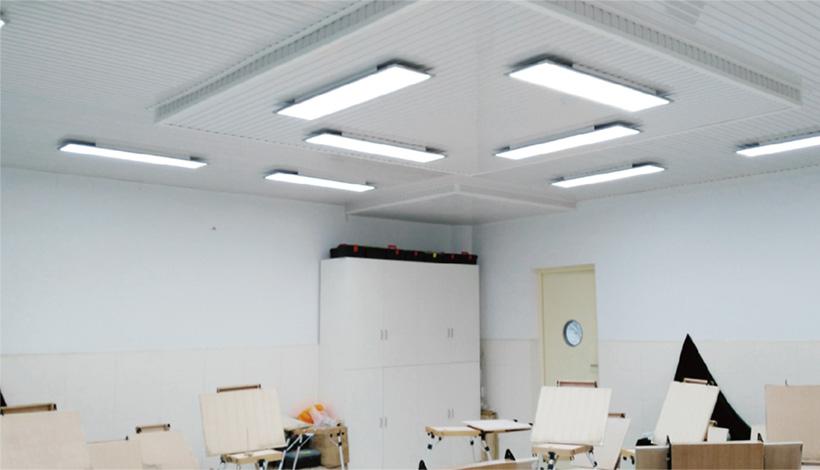 立达信全护眼教室灯系列完全满足美术教室照明要求,能够完美地将物体